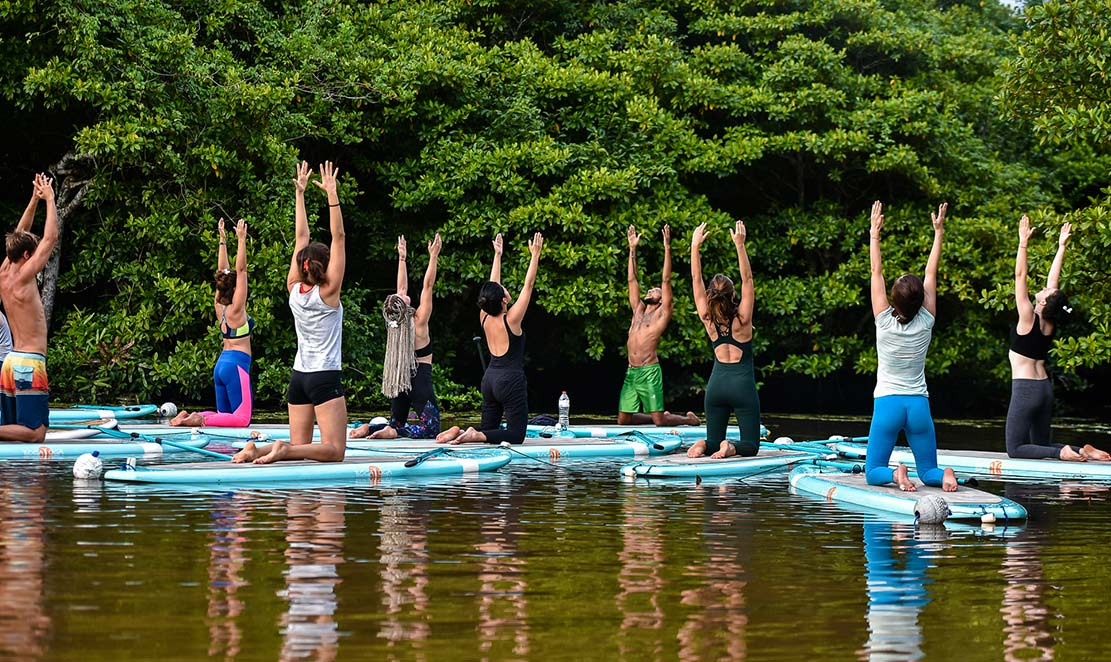 MORNING SUP YOGA CLASSES