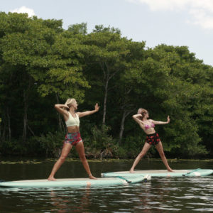 SUP Yoga Poses For Beginners